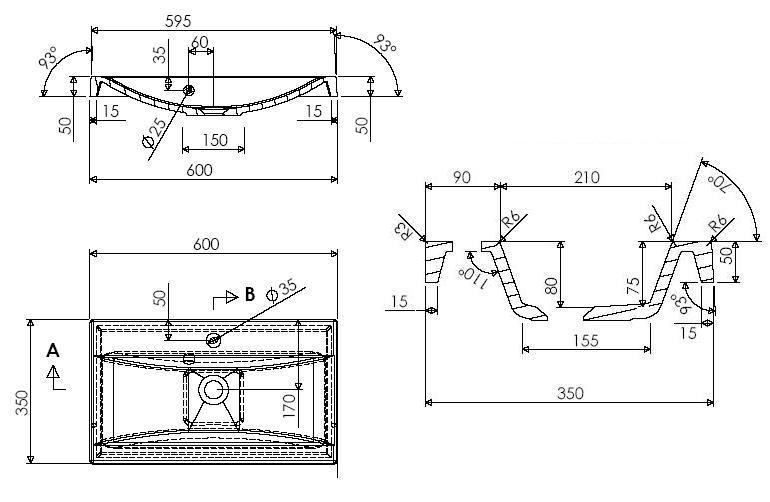 badm bel set badezimmer 5tlg hochglanz braun sonoma. Black Bedroom Furniture Sets. Home Design Ideas