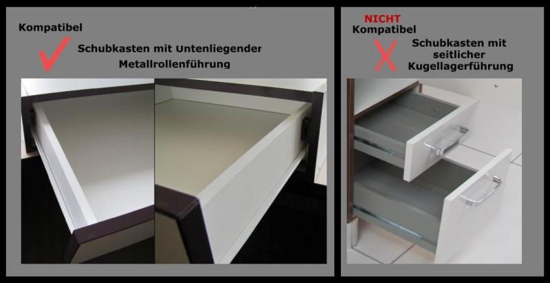 top schubladen selbsteinzug d mpfer zum nachr sten ebay. Black Bedroom Furniture Sets. Home Design Ideas