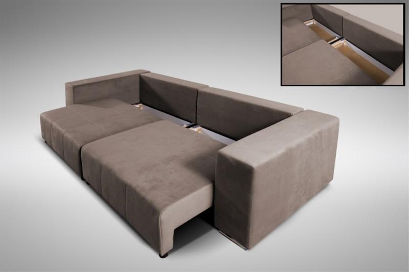 modernes schlafsofa sofa couch big sofa in braun schlaffunktion athen polsterm bel sofa. Black Bedroom Furniture Sets. Home Design Ideas