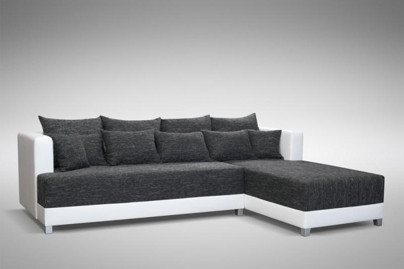 schlafsofa sofa couch ecksofa eckcouch schwarz weiss schlaffunktion wien 1 r polsterm bel sofa. Black Bedroom Furniture Sets. Home Design Ideas
