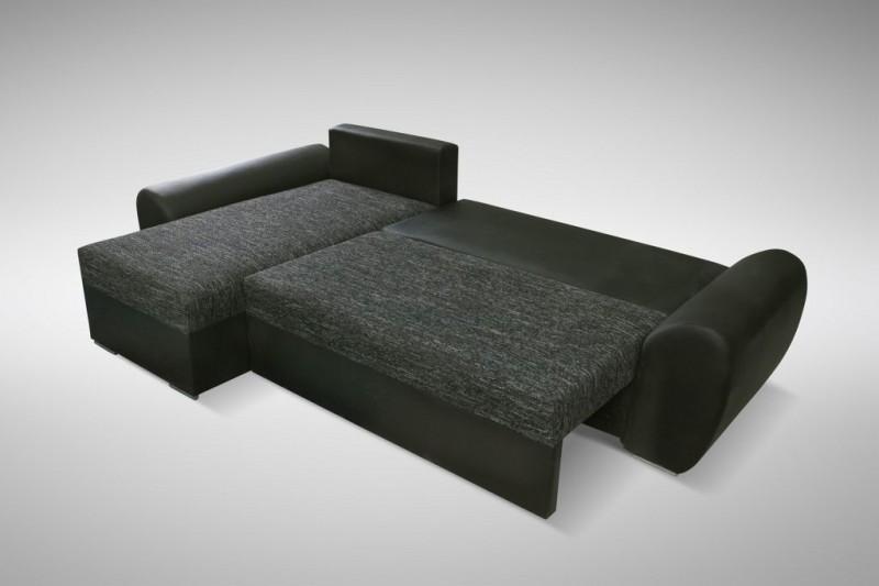 Ledercouch schwarz mit schlaffunktion  ecksofa schlafsofa | Möbelideen