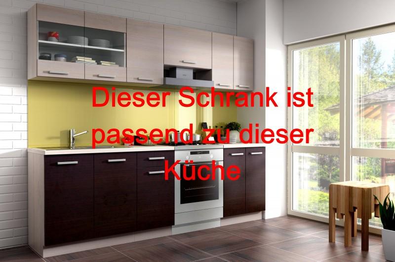 küchen-unterschrank münster - 2-türig - breite 100 cm, tiefe 60 cm ...
