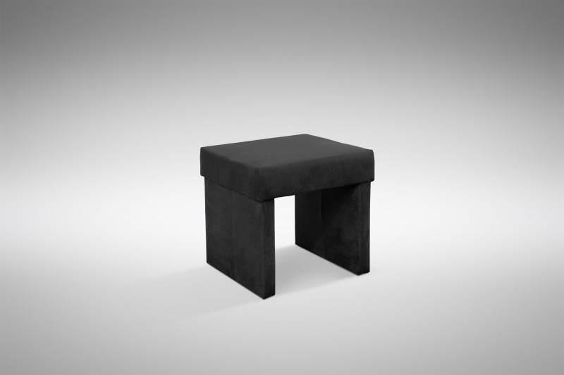 Hocker modern  Design Hocker Kunstleder modern in schwarz - Otto Polstermöbel Hocker