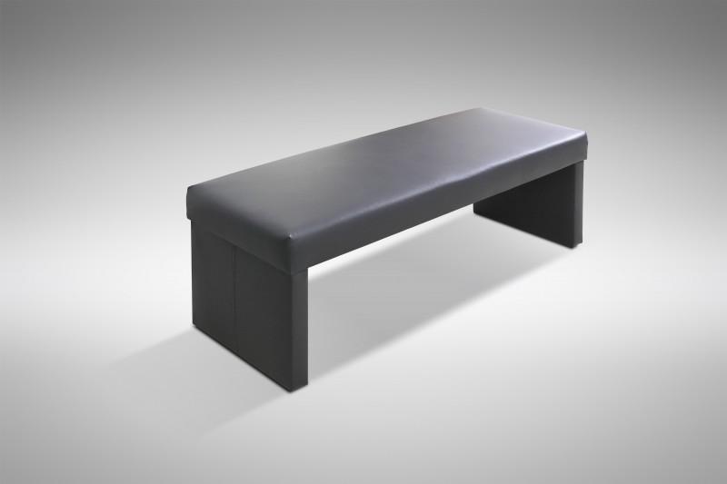 sitzbank dinnerbank modern in kunstleder schwarz otto. Black Bedroom Furniture Sets. Home Design Ideas