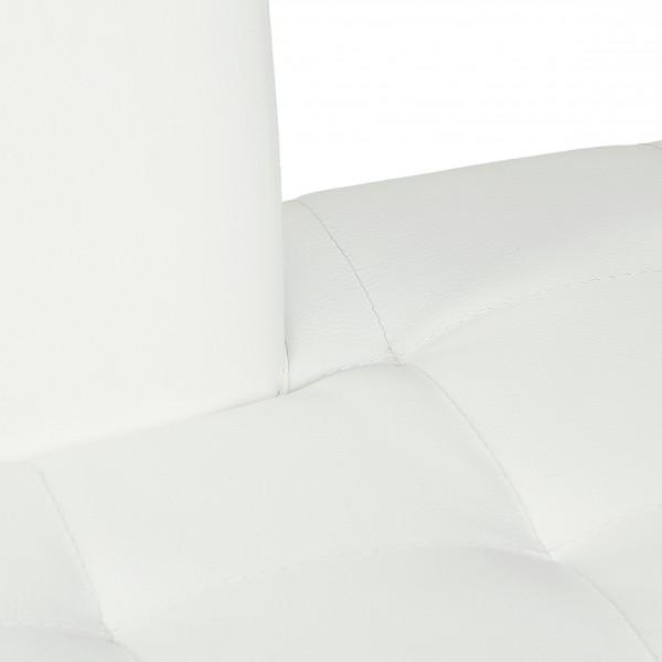 Eckbank Modern Weiss : Design Eckbank Karina Trend modern Kunstleder in weiss  rechts