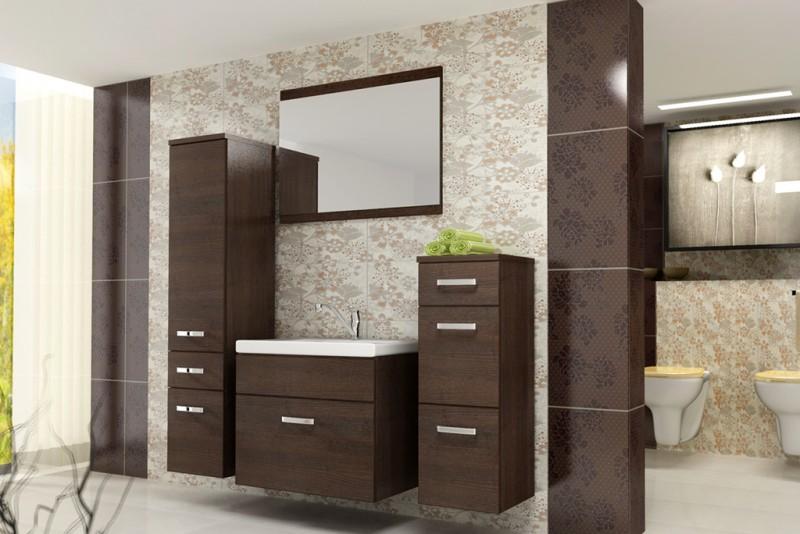 badmöbel / badezimmer evo 5tlg. set in wenge / wenge badmöbel, Hause ideen