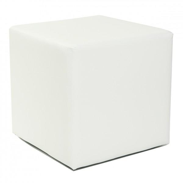 design sitzw rfel kubus i hocker kunstleder modern. Black Bedroom Furniture Sets. Home Design Ideas