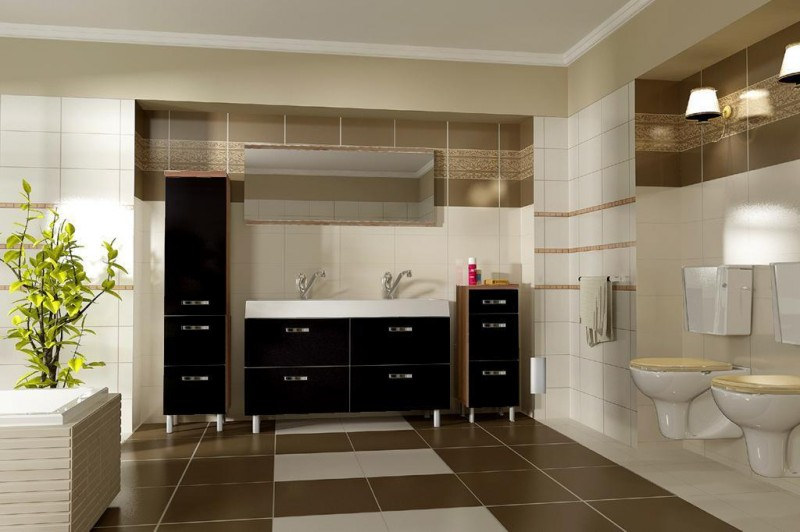 Badezimmer waschbecken schwarz inneneinrichtung und m bel for Badezimmer inneneinrichtung